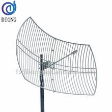 2.4G antenna 14-24dBi WIMAX outdoor direction grid parabolic 2km wifi antenna