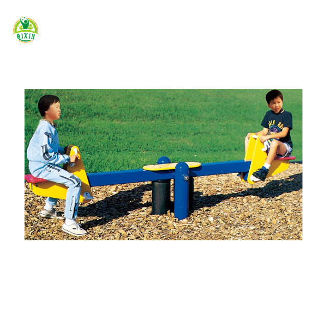 outdoor playground seesaw toys/kids rocking seesaw/kids seesaws QX-095E