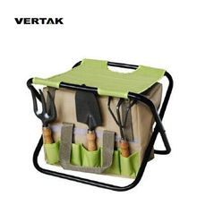 VERTAK Rich experience good 6 pcs garden with bag , Garden hand tool set