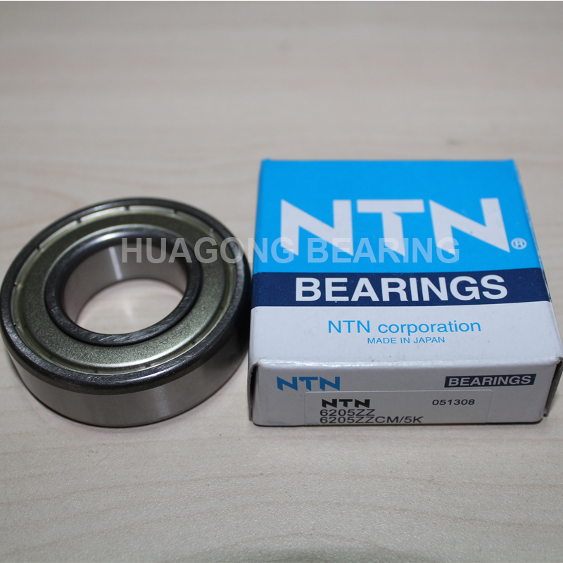 China agent supply 25*52*15mm Japan NTN deep groove ball bearing 6205 6205zz