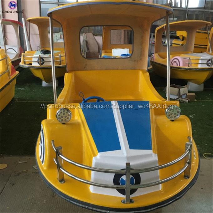 Novo design barato pequeno elétrico de passageiros FRP barco de turismo passeios de barco para a venda