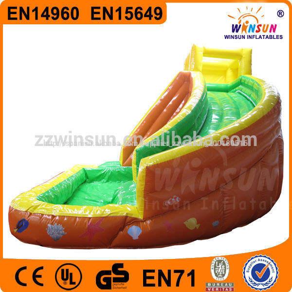 popular fuera de diapositivas inflables del agua kit de reparación