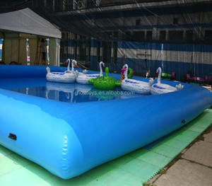 Blue inflatable pool rental/plastic swimming pools for sale