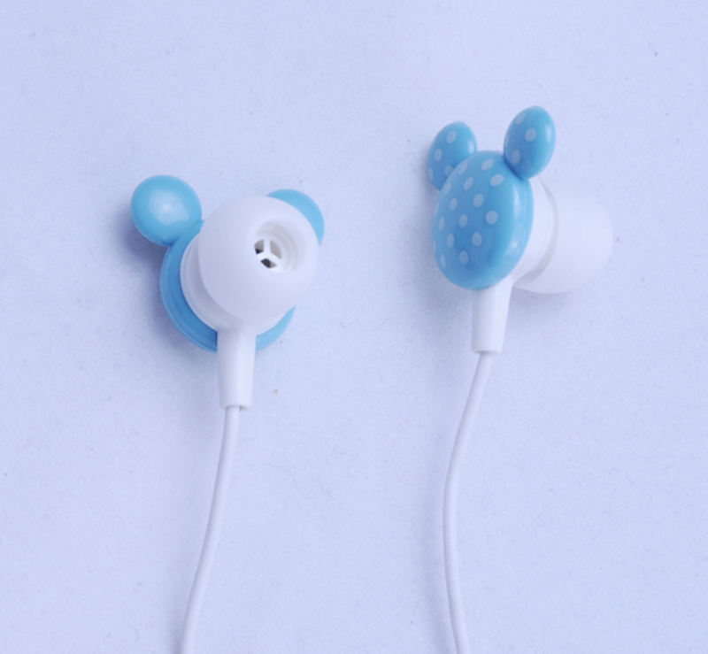 3.5mm Connector Cartoon Mickey Stereo Ear-koptelefoon