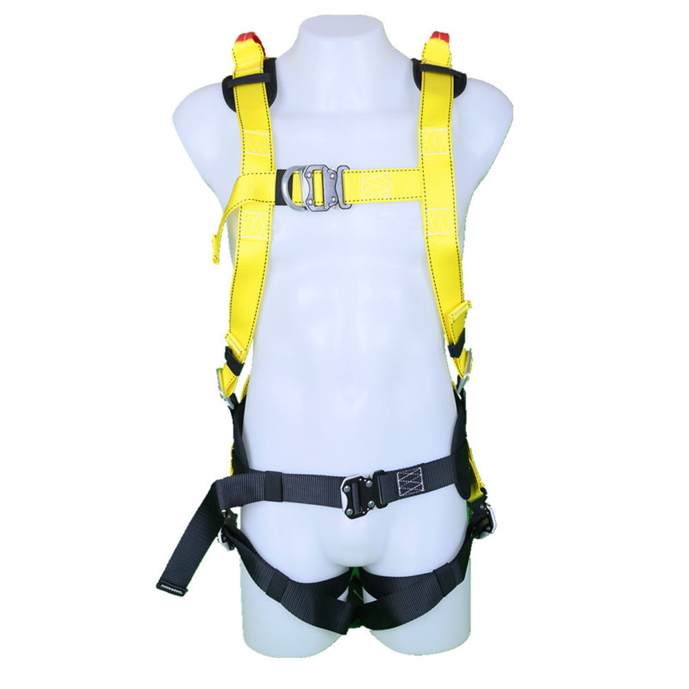YuanRui YR-QS004 fall arrest rescue polyester full body safety harness for sale