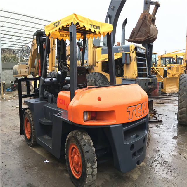 Good Working Condition Second Hand 7 ton TCM forklift FD70 /japan made used tcm 2.5t 3t 5t 7t forklift,Tcm 7T forklift