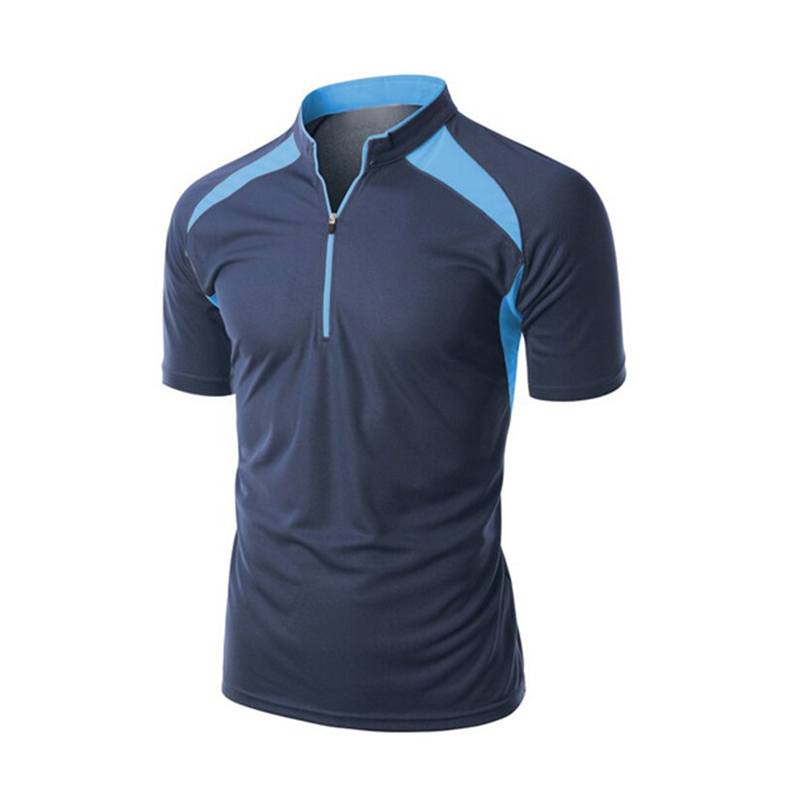 Uniform Zip Ingericht T Golf Droge Fit 90% Polyester 10% Spandex Golf <span class=keywords><strong>Polo</strong></span> Shirt