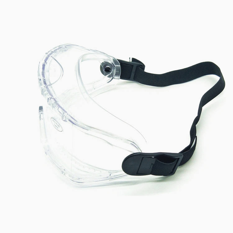 Hot selling clear anti-shock anti-fog safety glasses