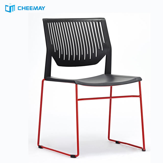 China wholesale fancy colored cheap plastic cafe chairs