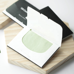 cosmetic oil blotting paper sheets for daily skin care