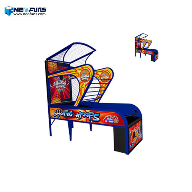 Neofuns Indoor Arcade Hoops Kast Basketbal Game/Straat Basketbal Arcade Game Machine