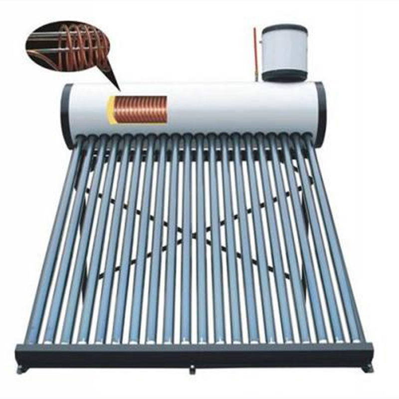 Pre-heated Pressure Integrative Solar Water Heater with Copper Coil solar water heater unit