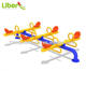Multi-seats Outdoor Garden Children Playground Kids Seesaw Plastic