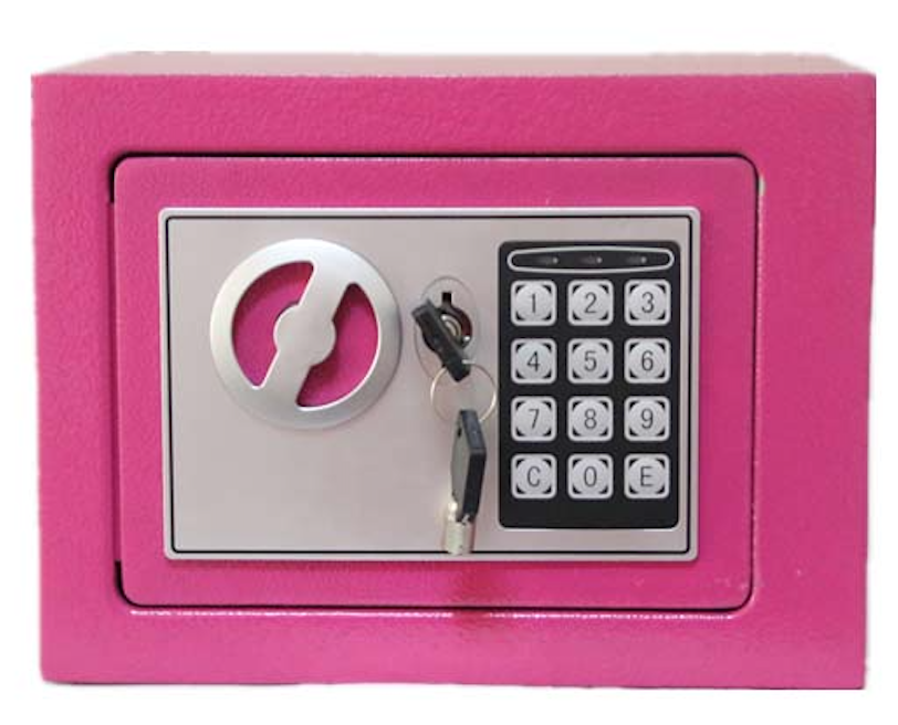 Mini safe electronic digital lock security safe box used in home hotel