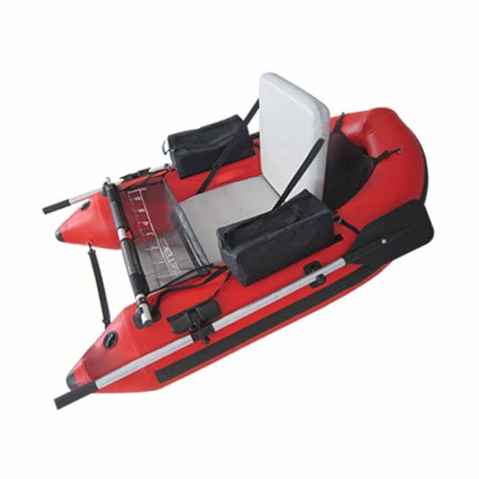 Mini fly fishing one or two person OEM custom float tube inflatable fishing boat