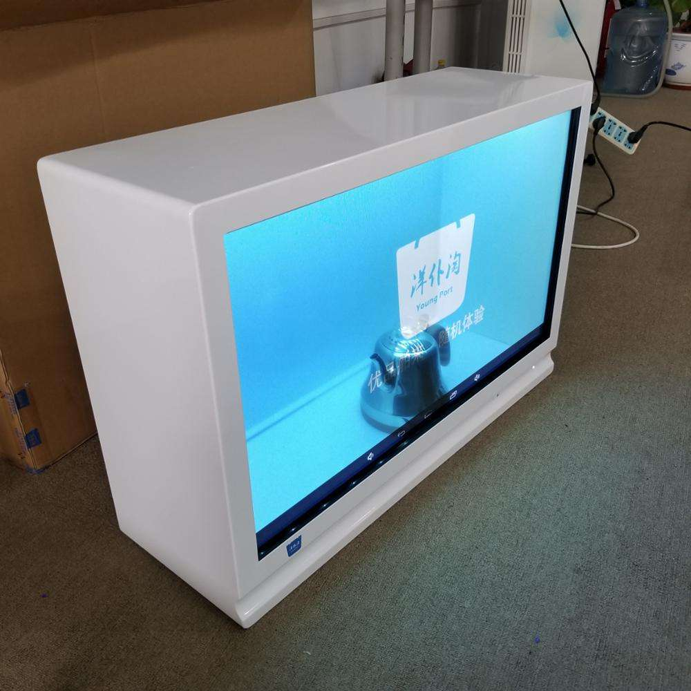 32 zoll Lcd screen transparent display box