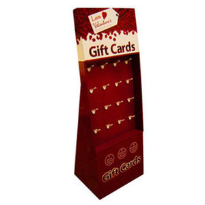 Gift Card Stands Corrugated Paper Card Display