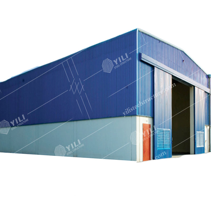 Prefab Building Construction Steel Structure Prefabricated Steel Building