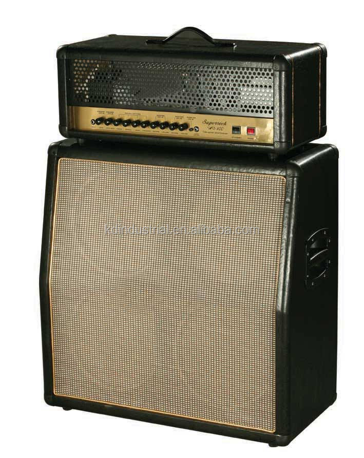 High Power 100W Guitar Tube Amp with Head Cabinet