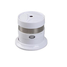 10 year battery mini smoke alarm for home security alarm system