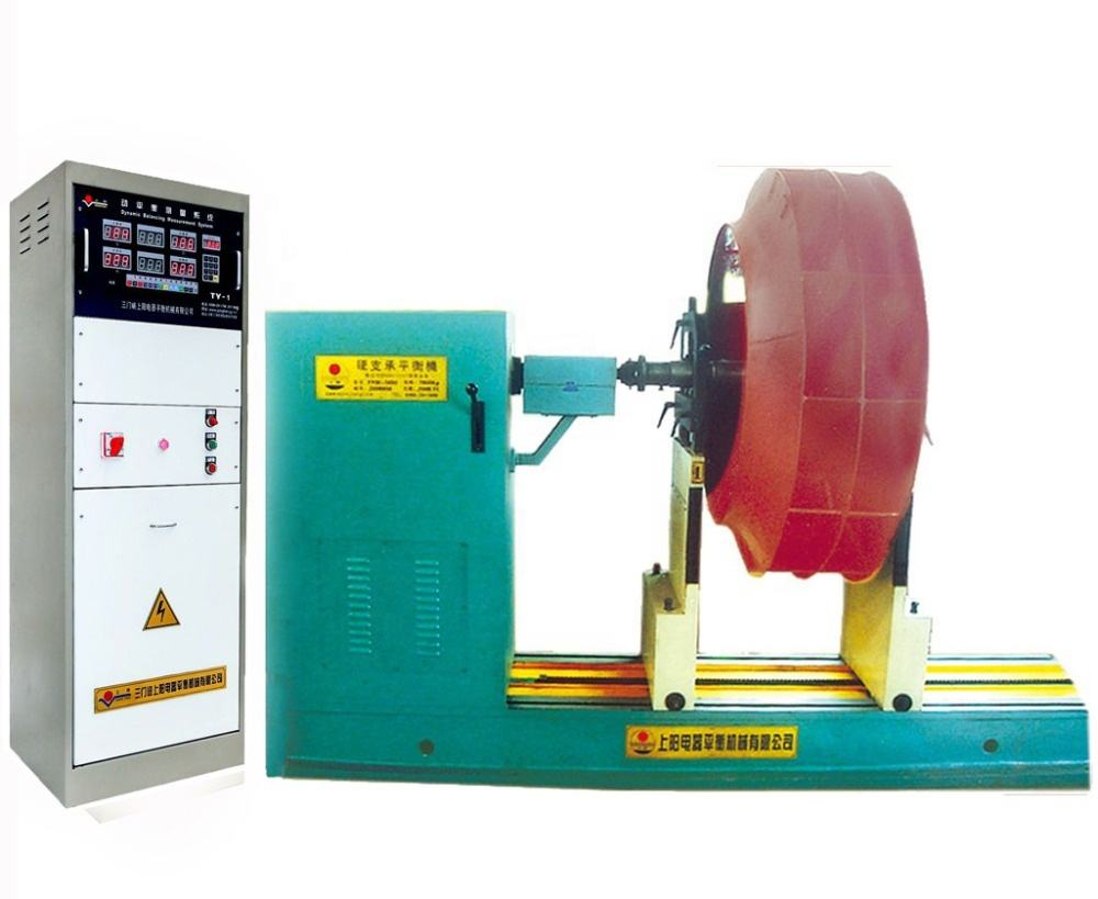 Factory price CPU Cooling Fan Dynamic Balancing Machine