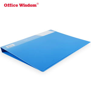 Factory price Metal clip folders A4 FC plastic PP file folder Strong Clips Long Lever Clip paper file binder