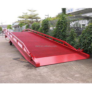 10 tons Forklift Portable Movable Steel Trailer Ramp