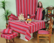 100% cotton yarn dyed Tablecloth and Kitchen linenn