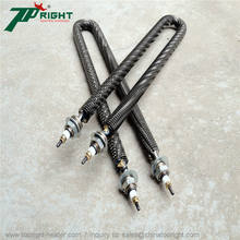 3kw Electric finned tubular heater, electric heating elements for Heating Shrink Tunnel/Oven