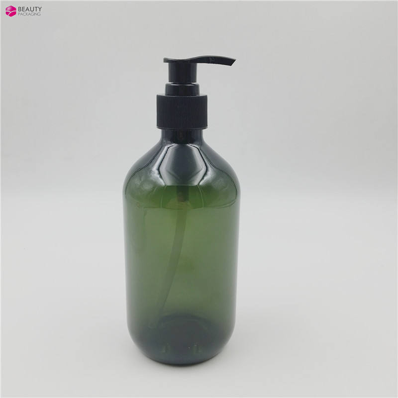500ML plastic skin care lotion pump bottle