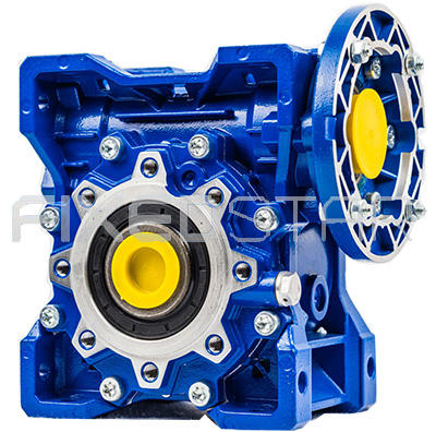 Power transmission industrial worm helical angle gearbox
