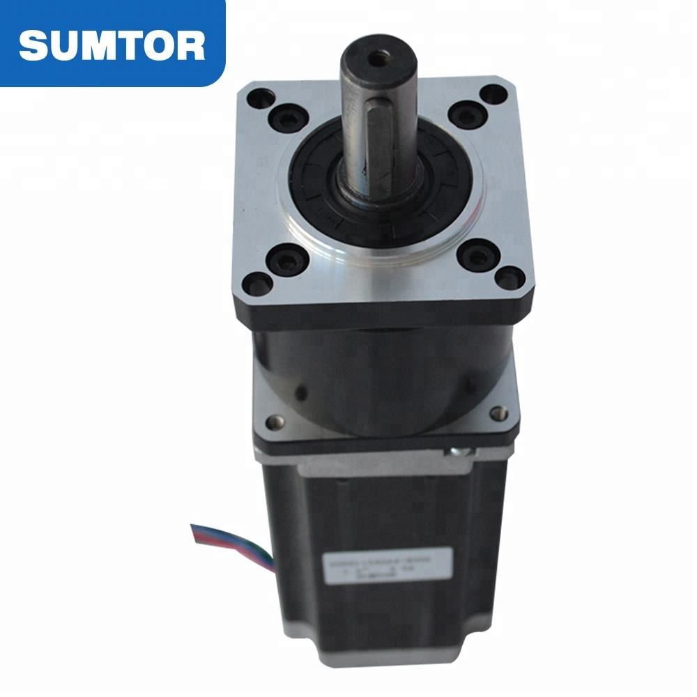 112mm 3A 8mm shaft type D 5:1 planetary gearbox nema 23 stepper motor