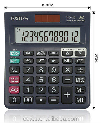 Mini Desk Type tax and check correct calculator