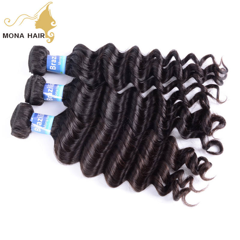 Top fashion celebrity natural wave hair soft tangle free Brazilian hair extension in dubai