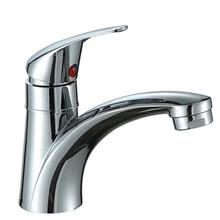 High quality low price zinc single handle chrome bathroom faucet