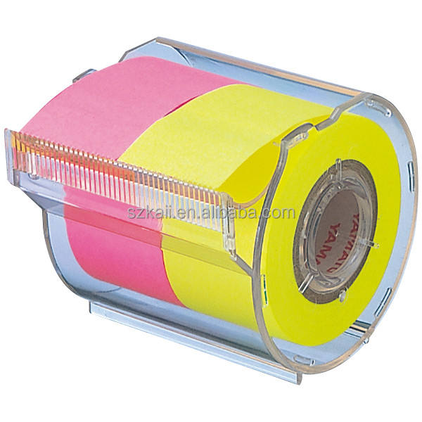 Accepteer custom order sticky note rolls dispenser fabrikant in China