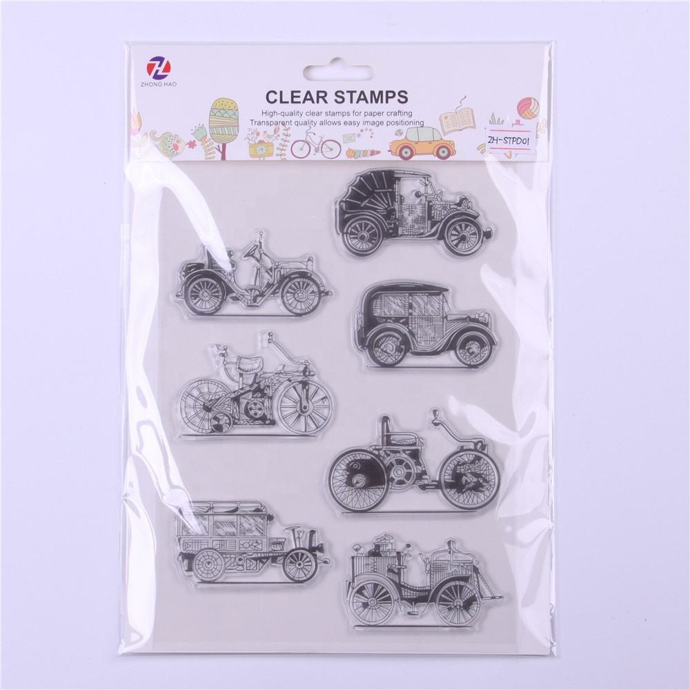 DIY Craft Decoration Clear stamp Custom Rubber Stamp