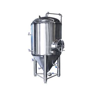 Stainless Steel 20L 5000L wine fermenter Vessel conical bottom brewing bright Beer Fermentation Tank