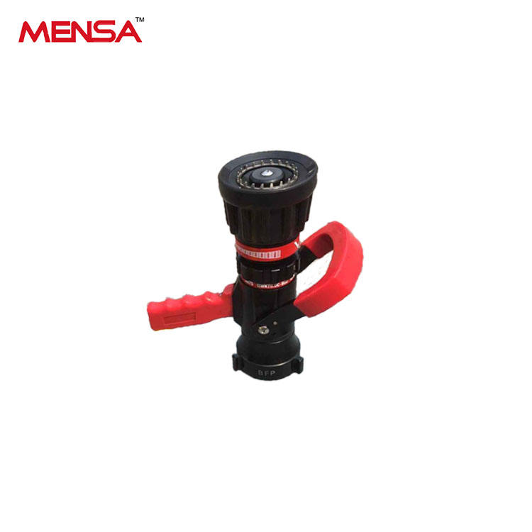 Portable Firefighting Spray Pistol Grip Adjust Flow Nozzle