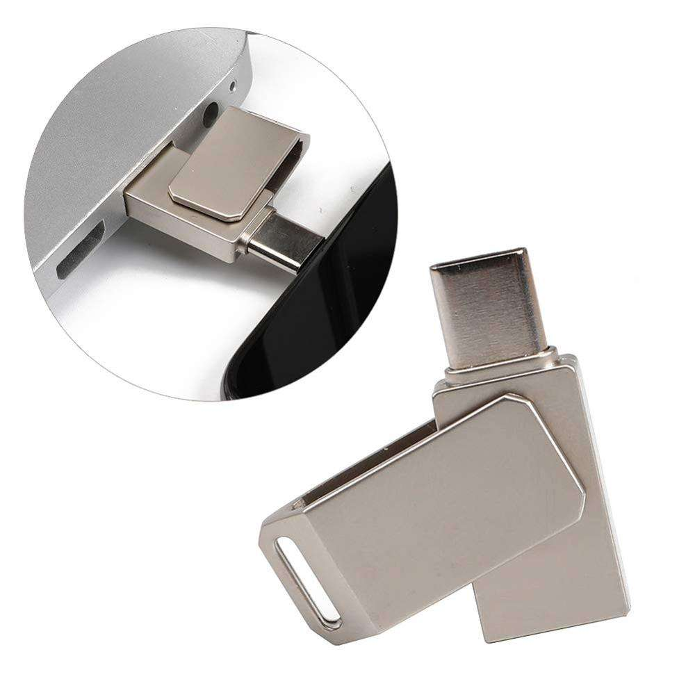 High Quality USB Flash Drive For Android Metal Pen Drive Memory Stick Mobile Otg Micro 8GB 16GB 32GB 64GB Pendrive