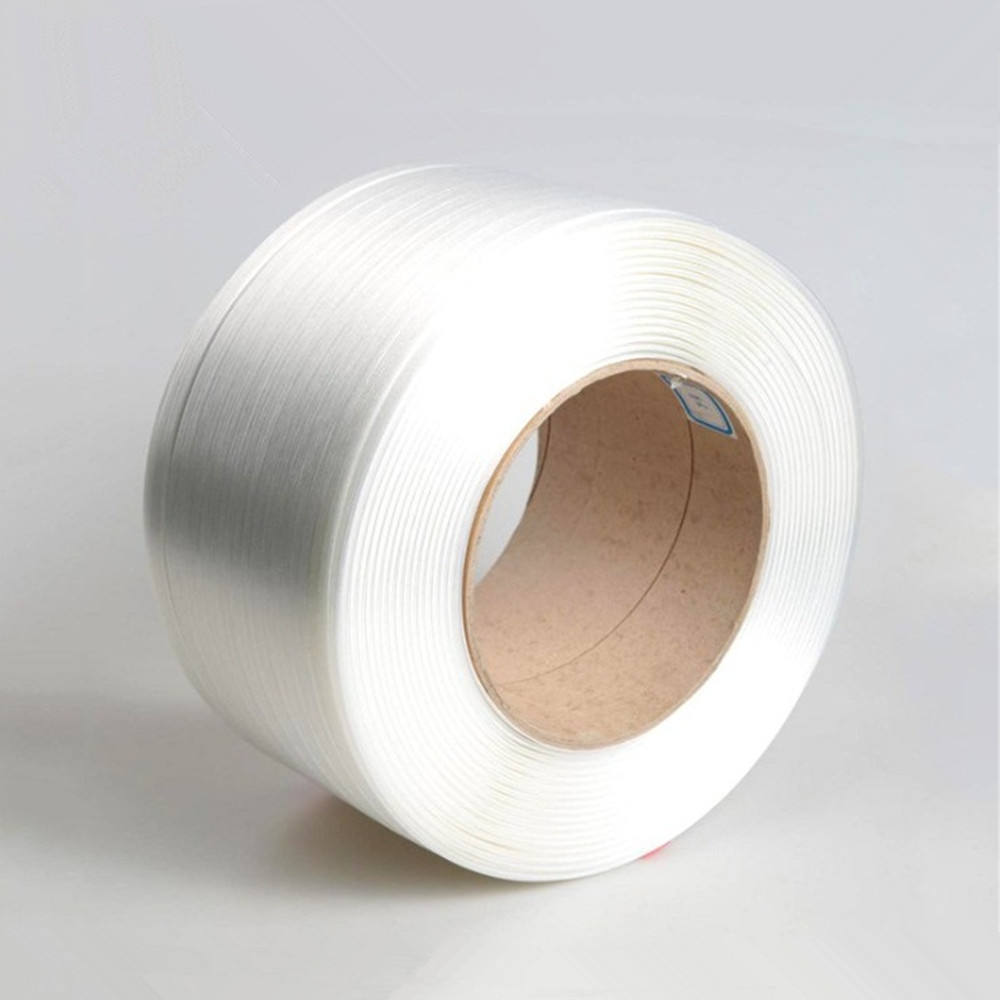 1T pure high tenacity composite polyester strap  13-32mm soft polyester strap for paper pallet