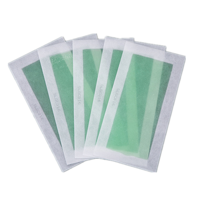 10pcs double side custom printed scented packing hair removal wax strips production line for face