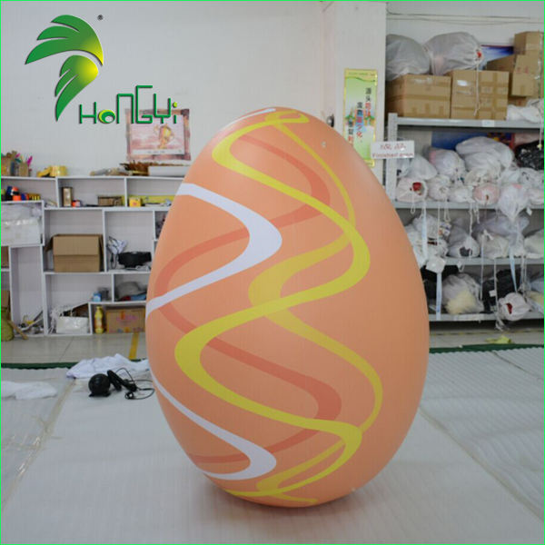 Iklan Raksasa Air Kinder Telur Kostum/Inflatable Easter Egg Display