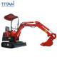 Mini Excavators Small Excavator Tl08E Mini Small Hydraulic Crawler Excavators With Auger