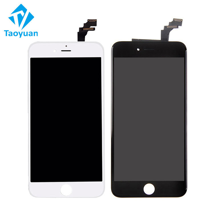 Free Shipping TS8 Mobile phone display for iphone 6 plus lcd touch screen 6p display assembly replacement