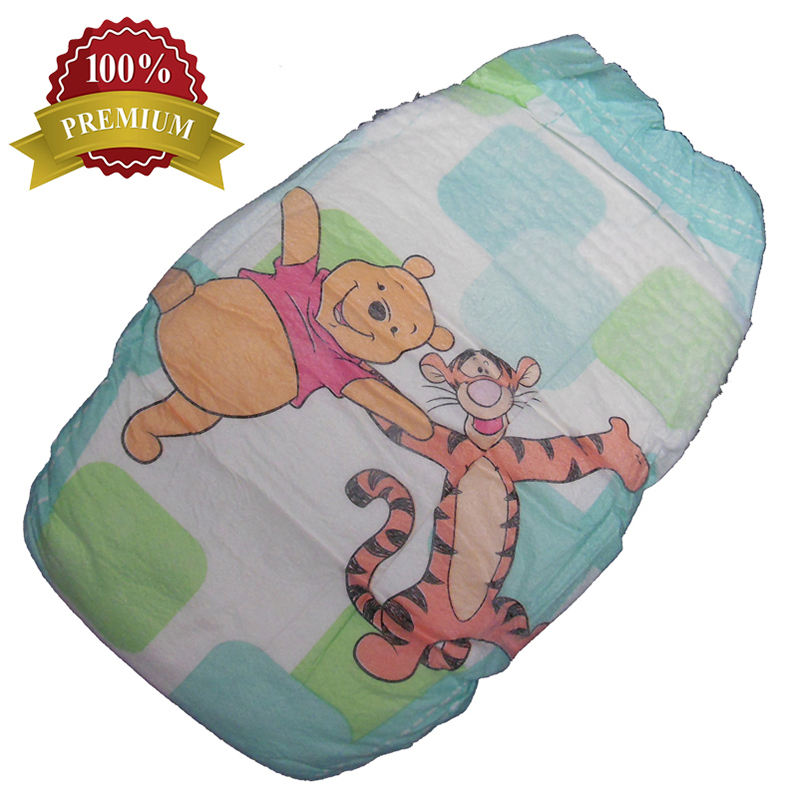 Disposable Super Soft Breathable Baby Diaper in Bulk with Factory Price