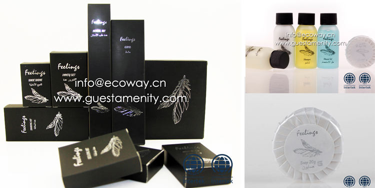 New Arrival Brand Product hotel guest amenities