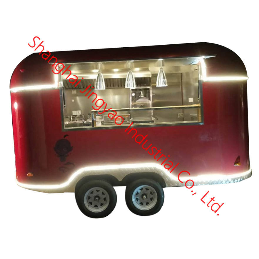 New Designed New Designed Multifunctional Drink airsteam ood certaring cart Bus Electric Food Van / Mobile Food Trailer