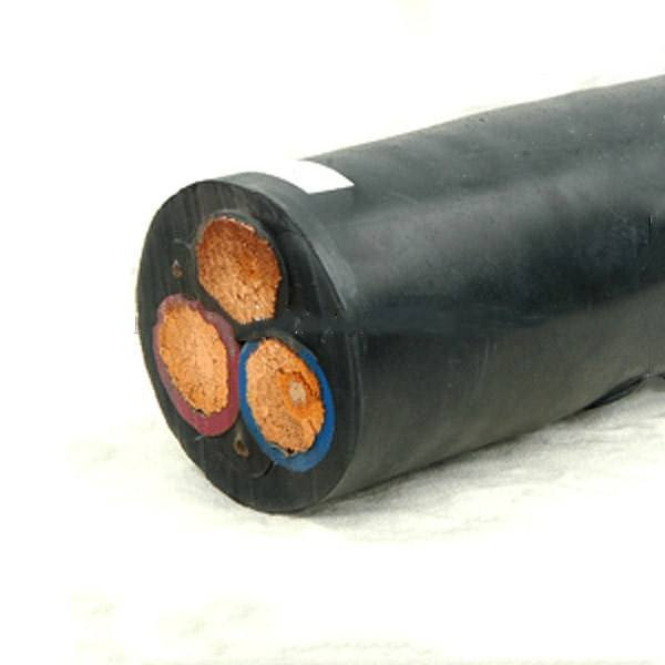 Rubber Jacketed Flexible 3g 1.0mm H05rn-F Rubber Cable Light Type 2.5mm 2 Core 3 Core 300/500V mig welding torch cable