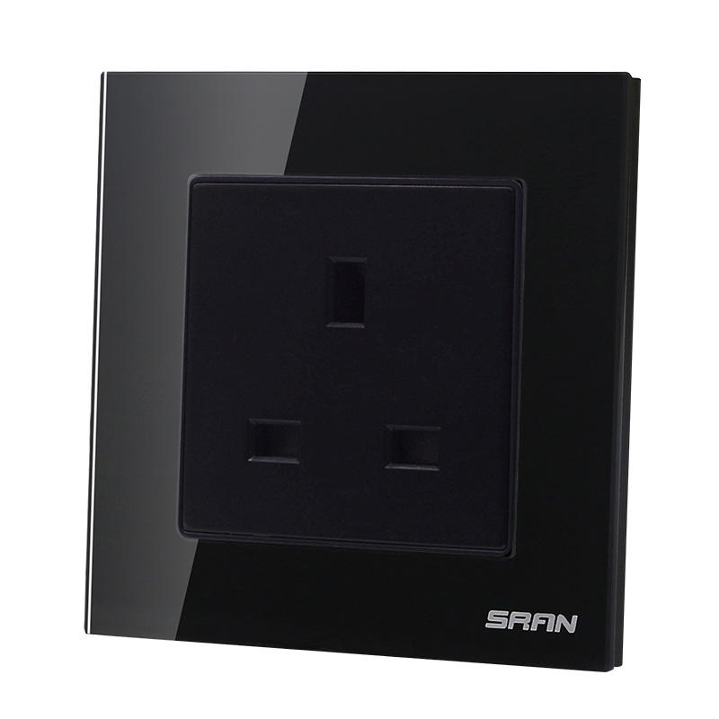13A BS 3 Pin Electrical Wall Socket With Switch and Neon